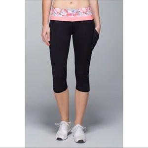 Lululemon run a marathon flowabunga leggings 10